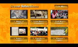 VINCENT WHO? DVD Scene Selections