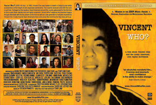VINCENT WHO? DVD Cover Wrap