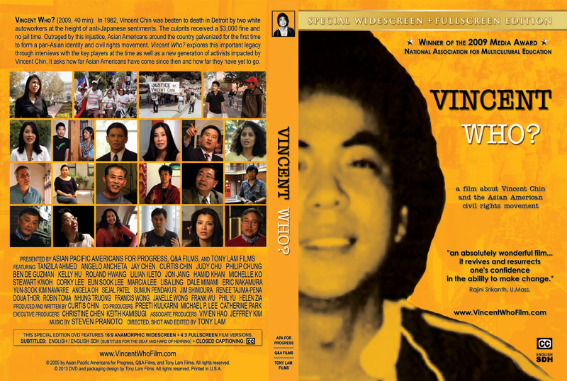 VINCENT WHO? - Special Edition DVD (for institutions)